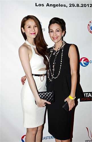 Người đẹp Thái Hà và Diễm My