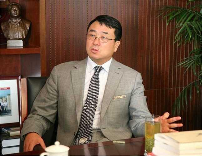 Vương Lập Quân trong văn phòng Giám đốc công an Trùng Khánh