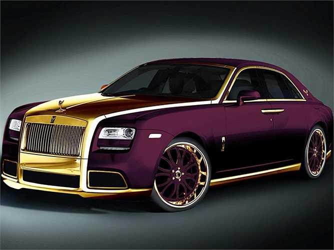 Rolls-Royce Ghost Fenice Milano
