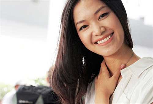 Hoa hậu Thùy Dung đẹp giản dị với mặt mộc, cô là kiều nữ được tung hô có vẻ đẹp thuần Việt, đậm chất Á Đông.