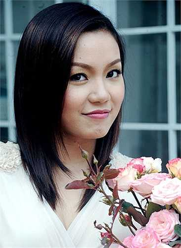 Ca sỹ Ngọc Anh.