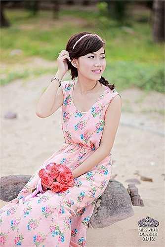 Trần Thị Hương Ly nhẹ nhàng nhưng cũng đầy cá tính
