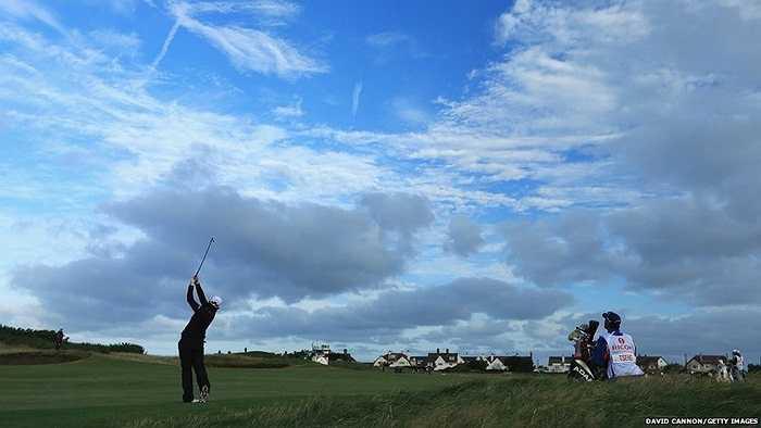 Hình ảnh tại giải Golf dành cho nữ tại Hoylake, Anh
