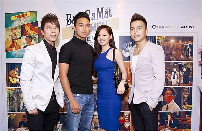 Hotgirl Tâm Tít và diễn viên Thanh Duy đồng hành cùng 2 chàng The men trong DVD với vai trò diễn viên của những mối tình nghiệt ngã đầy nước mắt.