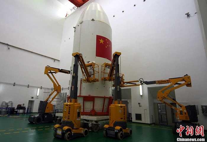 Sáng 19/9, tại Trung tâm phóng vệ tinh Tây Xương, tỉnh Tứ Xuyên, Trung Quốc đã phóng thành công tên lửa Trường Chinh-3B