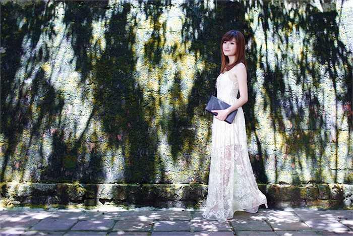 Hà Phương sở hữu một vẻ đẹp thanh khiết, nhẹ nhàng