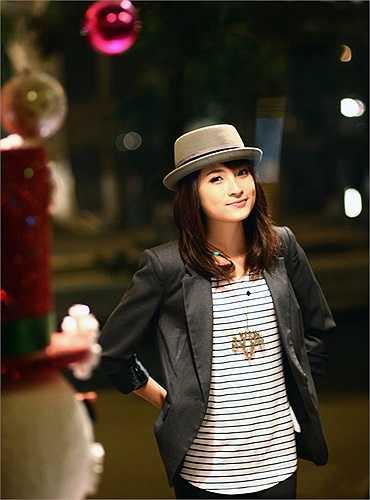Hà Phương cũng là cô bạn nữ sinh có cá tính