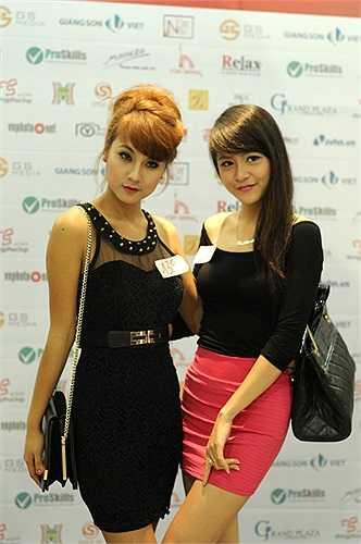 Nhiều hotgirl của Hà Nội cũng tham gia cuộc thi năm nay