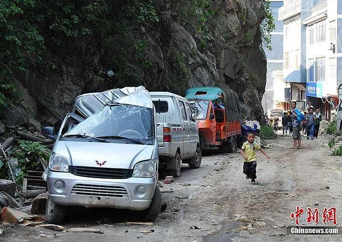 Động đất xảy ra tại khu vực giáp ranh giữa hai tỉnh Vân Nam và Quý Châu