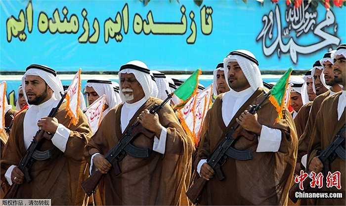 Lễ duyệt binh này là để kỷ niệm 32 năm cuộc chiến tranh Iran, hay còn gọi là chiến tranh vùng Vịnh nổ ra ở biên giới Iran và Iraq kéo dài 8 năm (từ ngày 22/9/1980 đến 20/8/1988)
