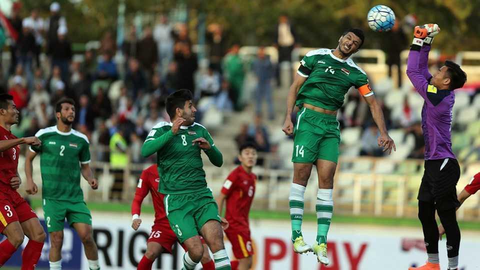Iraq thi đấu 'trên cơ' hẳn ĐTVN (ảnh: FIFA)
