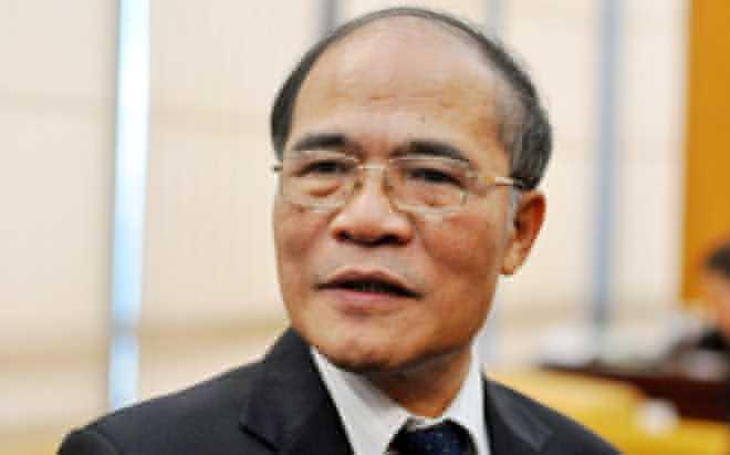 Quốc hội thống nhất cho ông Nguyễn Sinh Hùng thôi giữ chức vụ Chủ tịch Quốc hội.