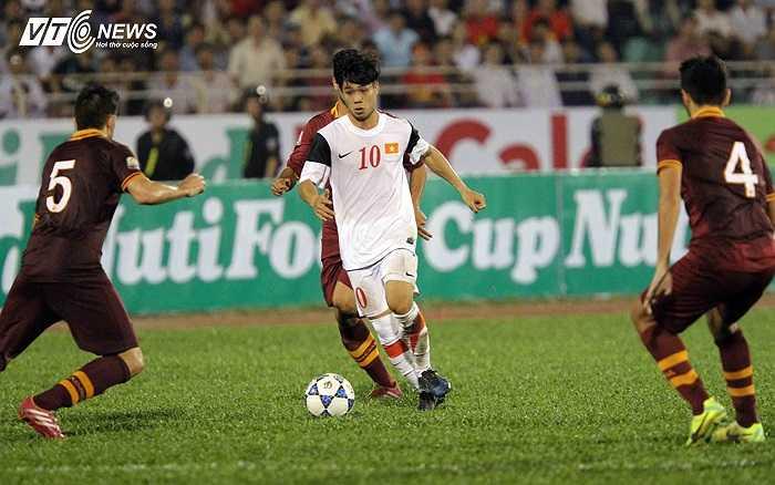 Nếu kết thúc tốt hơn, Công Phượng đã ít nhất một lần mang về bàn thắng cho U19 Việt Nam trong hiệp 1.