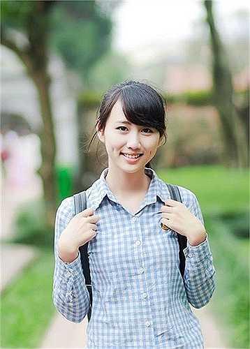Bích Thảo có vẻ ngoài trong sáng giống cô gái trà sữa nổi tiếng Trung Quốc.