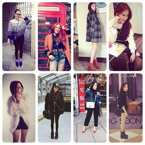 Phong cách thời trang đa dạng của Linh Rin.