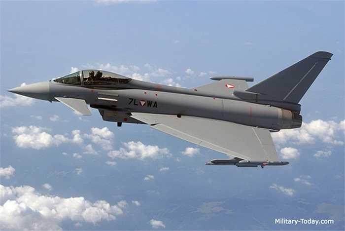 Eurofighter Typhoon (Chiến binh Châu Âu - Cuồng phong) là một máy bay chiến đấu tấn công cánh tam giác