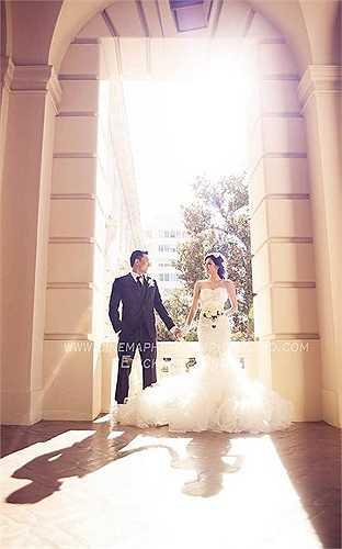 Bộ ảnh được chụp tại Mỹ, trong chuyến về nhà bạn trai ra mắt và thực hiện lễ cầu hôn của cặp đôi.