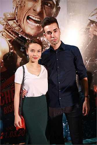 Yến Trang cũng có mặt tại buổi ra mắt phim.