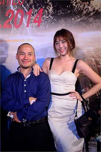 Tiến Đạt cùng người yêu Hari Won