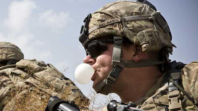 kẹo cao su chiến trường
