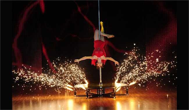 Để chuẩn bị cho Bước nhảy hoàn vũ, Ngân Khánh cũng phải tập luyện và bỏ công sức rất nhiều.