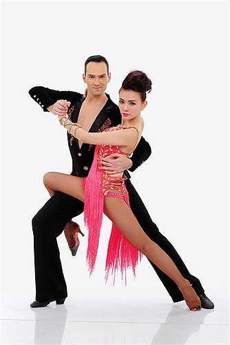Thu Thủy vốn là người có niềm đam mê với bộ môn dancesport.