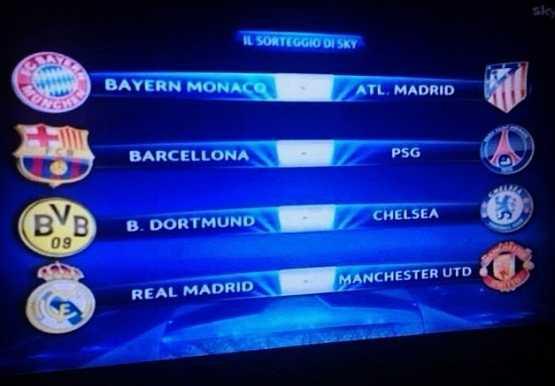 Champions League bốc thăm