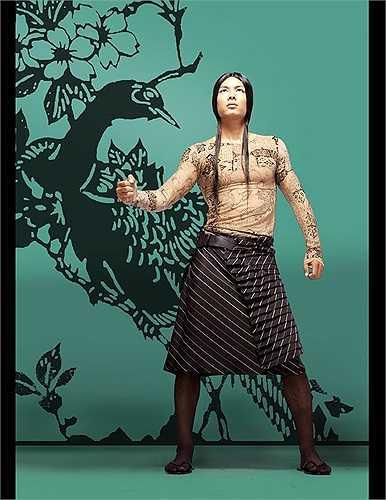 Bình Minh thời còn...mặc váy