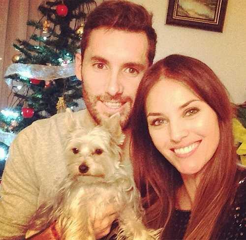 Ngôi sao của Real Madrid Rudy Fernandez khiến nhiều đồng nghiệp phải ghen tị vì sắp cưới được cựu Hoa hậu Tây Ban Nha Helen Lindes.
