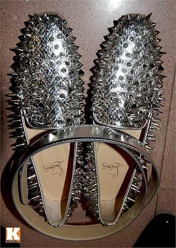 Đôi giày trị giá hàng nghìn đô từ thương hiệu Christian Louboutin