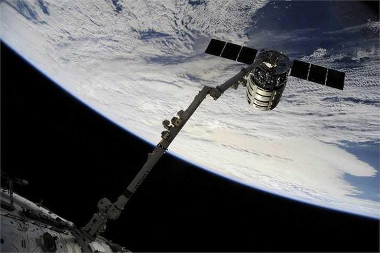 Một phần của trạm vũ trụ quốc tế ISS