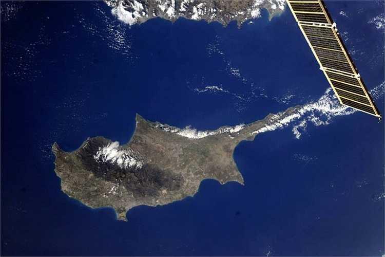 Nước Cộng hòa Síp dưới máy ảnh của phi hành gia