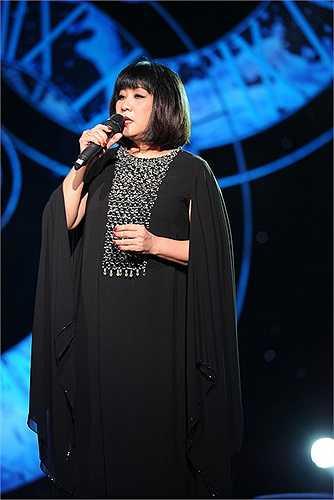 Cẩm Vân được coi là nữ ca sỹ với chất giọng tự sự hàng đầu để hát nhạc Trịnh