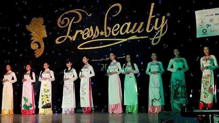 Press Beauty - Tài sắc nữ sinh báo chí là chương trình thường niên (từ năm 2010) của Học viện báo chí và tuyên truyền nhằm tìm ra những gương mặt nữ sinh xinh đẹp, tài năng.