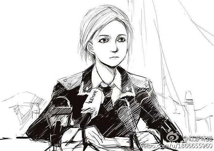 Trong khi hàng loạt cặp mắt đổ dồn vào Ukraina, gương mặt của bà Poklonskaya xuất hiện trên khắp các báo trên thế giới