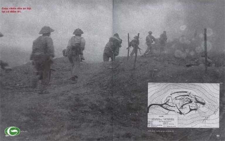 Bộ đội ta tấn công chiếm giữ đồi A1