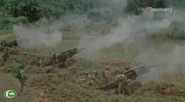 Pháo binh vào trận