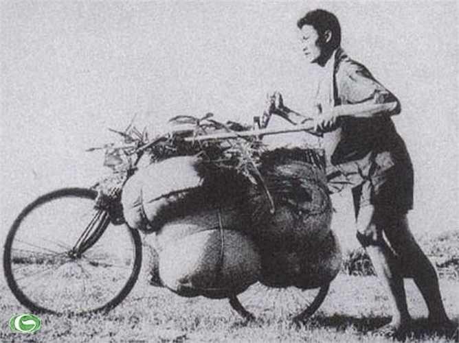 Xe thồ lên Điện Biên. Phương tiện vận chuyển thô sơ nhưng là sự kết tinh của khối đoàn kết đại dân tộc đã làm nên trận chiến lịch sử Điện Biên Phủ