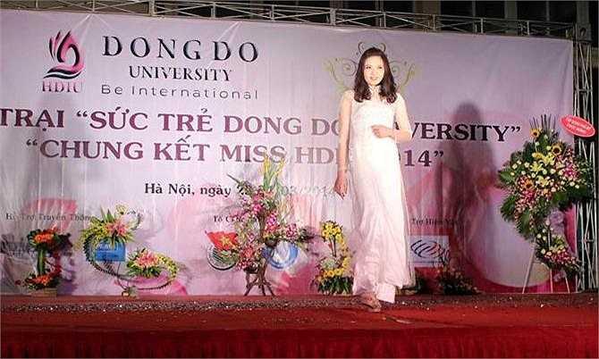 Cuộc thi Hoa khôi Đông Đô thu hút được rất nhiều sự theo dõi của sinh viên toàn trường