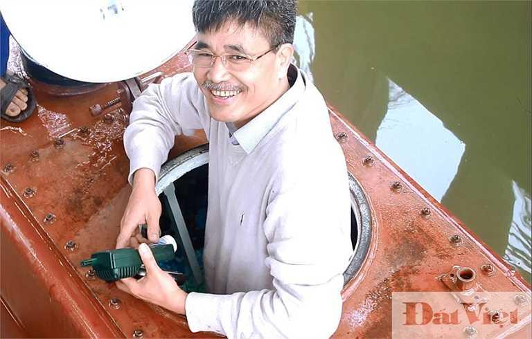 Nụ cười của doanh nhân Nguyễn Quốc Hòa