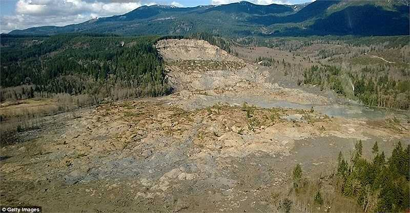 Những khu vực bị sạt lở nghiêm trọng sau thảm họa