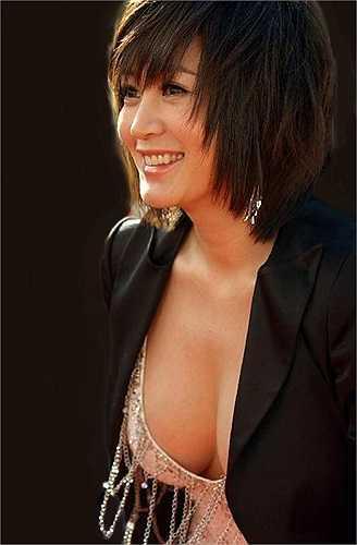 Kim Hye Soo nổi tiếng là một trong những kiều nữ có thân hình 'phồn thực'