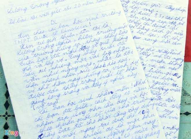 Bài kiểm tra văn 'bá đạo' của học sinh lớp 10