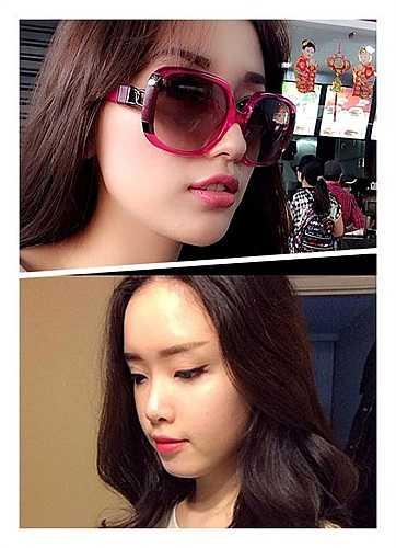 Văn Mai Hương còn thường xuyên chia sẻ ảnh cô em gái xinh đẹp.