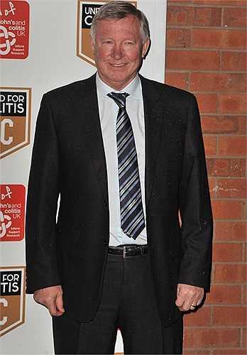 Sir Alex cũng xuất hiện ở buổi lễ này.