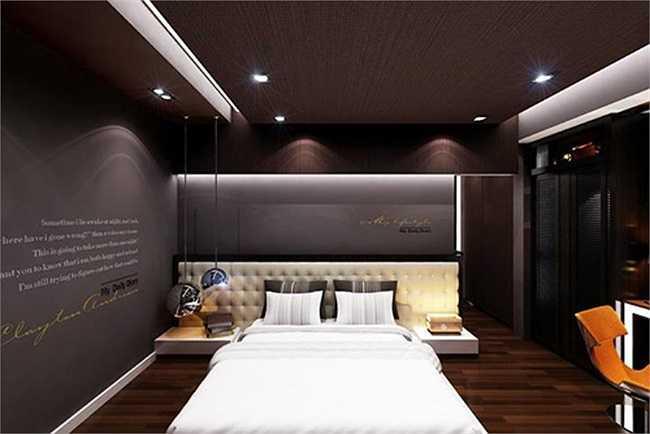 Đây là thiết kế dành riêng cho phòng ngủ của hotgirl này.