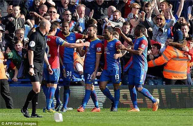 Crystal Palace xứng đáng giành chiến thắng trong trận đấu này vì tinh thần quật cường của họ