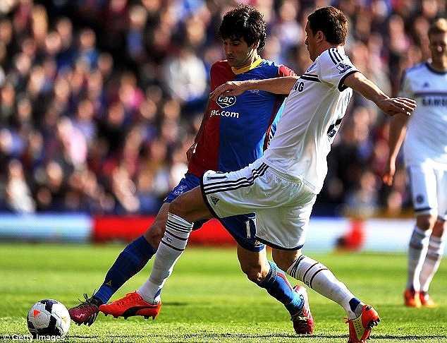 Trong trận đấu này, dù Chelsea là đội lấn át hoàn toàn