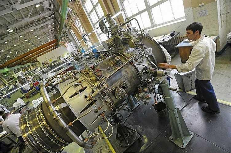 Bộ phận động cơ của các máy bay phản lực được chế tạo tại Tula