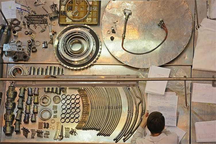 Các bộ phận của động cơ máy bay